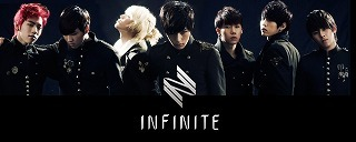 INFINITE(インフィニット:韓国K-POP)と契約:TSUTAYA デビューシングル「TO-RA-WA」 セカンドシングル「She's Back」